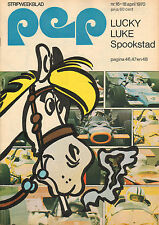 PEP 1970  nr. 16 - BRAINBOX / GRAND PRIX FORMULE 1 / LUCKY LUKE (COVER)