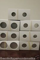 One Hundred 100 Assorted Size Coin Holder 2X2 Cardboard Mylar Flip 7 U.S. Sizes