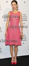 Chanel Exquisite Pink Red Puckered Jacquard Knit Flared Skirt Tank Dress 13C NWT