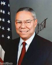 Colin Powell Signed Reprint 8x10 Photo 004