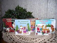 CHRISTMAS BOARD BOOKS SET/  5 MCGRAW HILL 2002