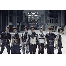 INFINITE - [Destiny] 2nd Single Album CD + Post Card (On pack) Sealed K-POP