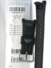 Genuine Casio Replacement Band Pathfinder PAG40 PAG240 PRG40 Black Resin Band