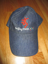 Beijing China 2008 SUMMER GAMES (Adjustable) Denim Cap