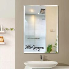 Hello Gorgeous Mirror Decal Sticker Wall Stickers Home Decal Wall Quote Stickers