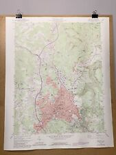 Beckley West Virginia Raleigh County Map 1989 Geological Topographical Survey