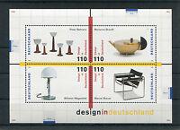 Bund Block 45 sauber postfrisch BRD 2001 - 2004 Design in Deutschland 1998 MNH