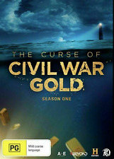 The Curse of Civil War Gold DVD Season 1 2dvd Set T59