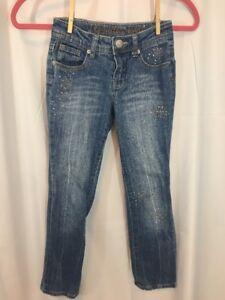 Justice 8R Sparkle Detail Straight leg jeans