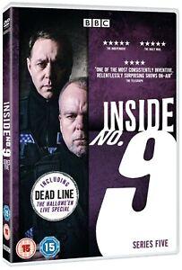 INSIDE NO. 9 Complete Series 5 (Region 4) DVD Number Nine Season Five