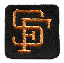 "1960'S SAN FRANCISCO GIANTS MLB BASEBALL VINTAGE 2"" HAT LOGO TEAM PATCH"