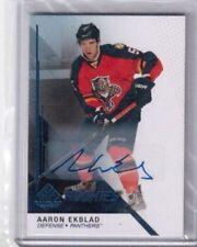 2014-15 SP Game-Used Rookies card # 153 Aaron Ekblad autograph