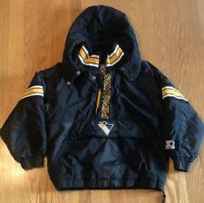 Vintage Starter Pittsburgh Penguins NHL Hockey Winter Coat Jacket Youth S