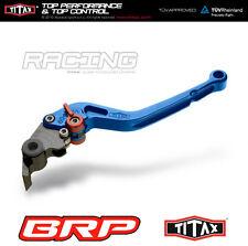 Aprilia Dorsoduro 750 08- Shiver 750 TITAX Brems- und Kupplungshebel lang blau