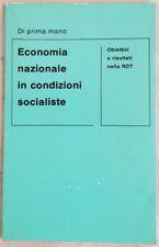 ECONOMIA NAZIONALE NEL SOCIALISMO OBIETTIVI RISULTATI RDT GERMANIA 1974