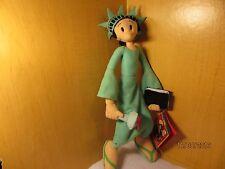 "Popeye Sailor* Olive Oyl Statue Liberty* 14"" Plush Doll Poseable  Kellytoys"