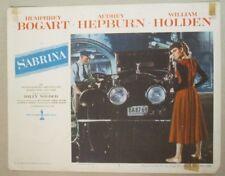 SABRINA - Aushangfoto Lobbycard - AUDREY HEPBURN 1954 Billy Wilder