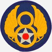 """8th Air Force Embroidered Shoulder Patch, 3"""",  WWII Aviation, B-17  PAT-0103"""
