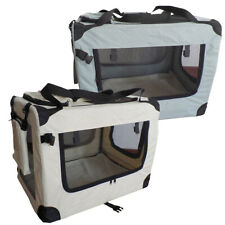 Hundetransportbox Hundebox faltbar Autotransportbox Katzen Hunde Box Sam´s Pet®
