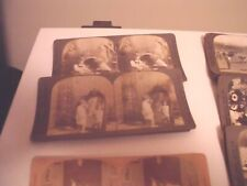 Stereoview Optic Cards Lot of 26