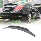 For Mercedes-benz S-class W222 14-19 Carbon Fiber Rear Trunk Lip Spoier Wing