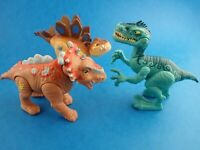 Toy Figures Lot JURASSIC WORLD - PLAYSKOOL HEROES Dinosaurs Bundle