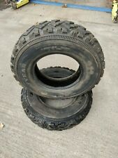 Pair of Goodyear G90 Tyres