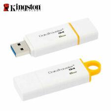 "Kingston 8GB DataTraveler I G4 Flash Pen Drive- ""NEW"""