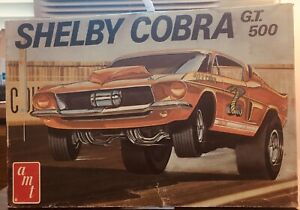 """model car """"art box"""" top only (kit not included) AMT Shelby GT 500"""