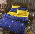 Queen/King/Super King Size Bed Duvet/Doona/Quilt Cover Set New Ar NIGHT