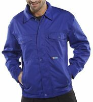 """Super Click Heavyweight Drivers Jacket Royal Blue Size 44"""" chest"""