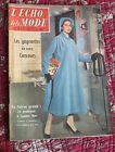 1957 L'écho de la mode N°3 Hebdomadaire féminin vintage couture rétro