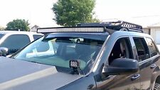 """LED Bracket Mounts For 54"""" Curved Bar Light 05 - 10 Fits JEEP Grand Cherokee WK"""