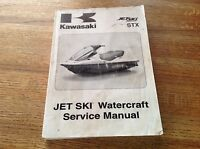 OEM Kawasaki STX Jet Ski 2009 JT1500 Watercraft Service Manual 99924-1420-01