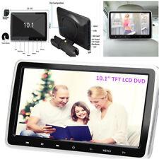 """10"""" Ultra Digital HD TFT LCD Headrest DVD Player Car Multimedia Monitors w/ HDMI"""