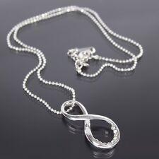 Halskette mit Unendlichkeitszeichen Infinity Unendlichkeit Strass ewige Liebe