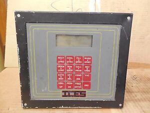 ICES DYE MACHINE OPERATOR DISPLAY PANEL CONTROL CONTROLLER