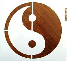 Ying Yang Stencil / Template Reusable 10 mil Mylar