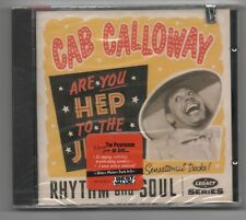 CAB CALLOWAY CD (NEW)  ARE YOU HEP TO THE  JIVE
