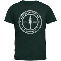 Sequoia National Park Forest Green Adult T-Shirt