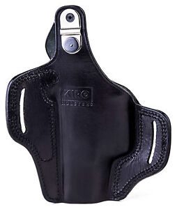 """The TB Casual - KIRO Thumb Break Leather Holster for Springfield XD45 4"""""""