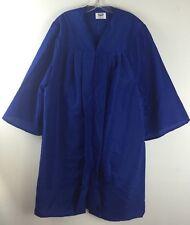 "Jostens Graduation Gown Choir Blue Robe Clergy Costume Mens Womens 6'1"" -  6'3"""