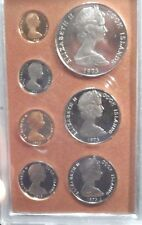 BEAUTIFUL 1973 7 COIN PROOF SET OF COOK ISLANDS!!!!!