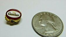 Gunther Beer 10 Year Service Lapel Pin