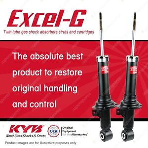 2 x Rear KYB Excel-G Shock Absorbers for Honda Odyssey RB3 2.4 FWD Wagon