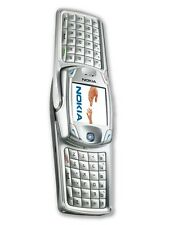 NEW NOKIA 6822 6820 UNLOCKED SILVER QWERTY SWIVEL CELL PHONE SB
