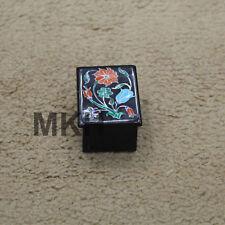 Ring Box jewelry case storage earring display gift organizer holder black onyx