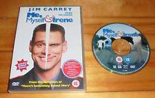 ME,MYSELF AND IRENE DVD ~JIM CARREY RENEE ZELLWEGER ~ BLACK COMEDY MOVIE FILM