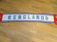 Vintage  ENGLAND  Red, White and Blue  FOOTBALL Team Scarf