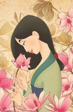 Mulan - Flower Art Poster - 22x34 - Disney Movie 16560
